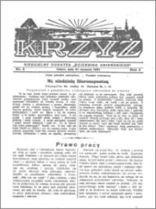 Krzyż 1932, R. 4, nr 4