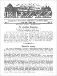 Krzyż 1932, R. 4, nr 6