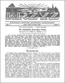 Krzyż 1932, R. 4, nr 7