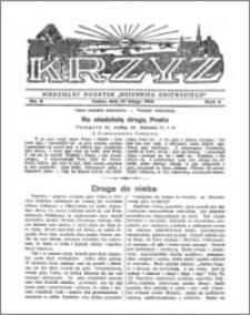 Krzyż 1932, R. 4, nr 8