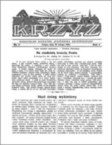 Krzyż 1932, R. 4, nr 9