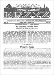 Krzyż 1932, R. 4, nr 10