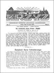 Krzyż 1932, R. 4, nr 11