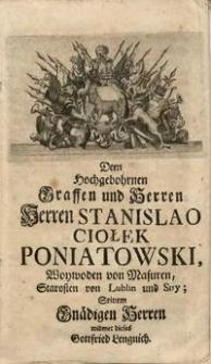 Polnische Geschichte von denen Zeiten Lechi an biß auf den Tod Augusti des II