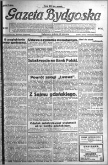 Gazeta Bydgoska 1924.01.26 R.3 nr 22