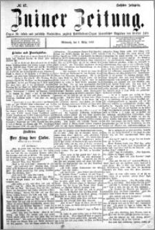 Zniner Zeitung 1893.03.01 R.6 nr 17