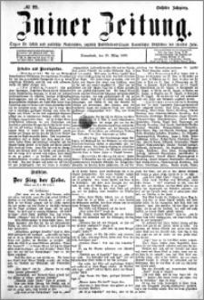 Zniner Zeitung 1893.03.18 R.6 nr 22