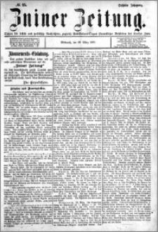Zniner Zeitung 1893.03.29 R.6 nr 25