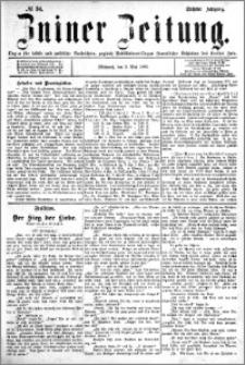 Zniner Zeitung 1893.05.03 R.6 nr 34