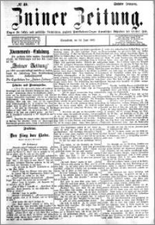 Zniner Zeitung 1893.06.24 R.6 nr 49