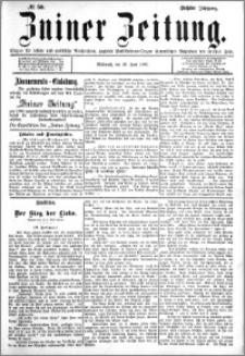 Zniner Zeitung 1893.06.28 R.6 nr 50