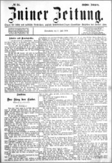 Zniner Zeitung 1893.07.01 R.6 nr 51
