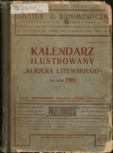 """Kalendarz Ilustrowany """"Kurjera Litewskiego"""" 1910"""