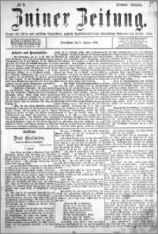 Zniner Zeitung 1894.01.06 R.7 nr 2