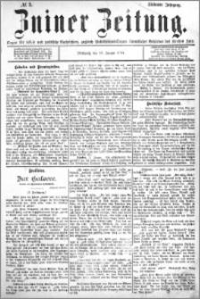 Zniner Zeitung 1894.01.10 R.7 nr 3