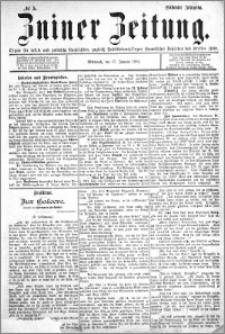 Zniner Zeitung 1894.01.17 R.7 nr 5