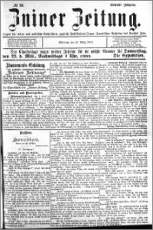 Zniner Zeitung 1894.03.21 R.7 nr 23