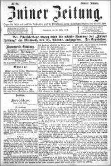 Zniner Zeitung 1894.03.24 R.7 nr 24