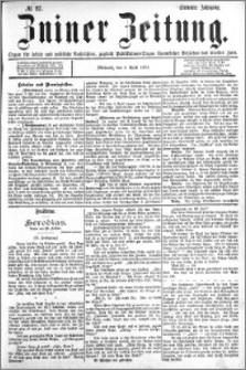 Zniner Zeitung 1894.04.04 R.7 nr 27