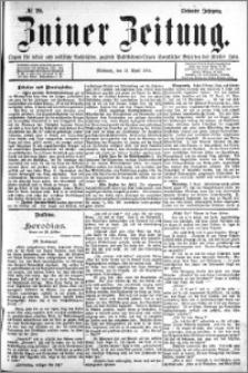 Zniner Zeitung 1894.04.11 R.7 nr 29
