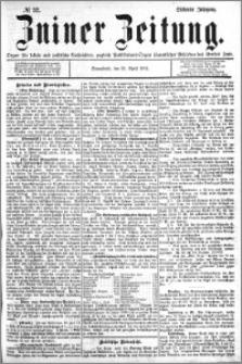 Zniner Zeitung 1894.04.21 R.7 nr 32