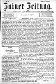 Zniner Zeitung 1894.04.28 R.7 nr 34