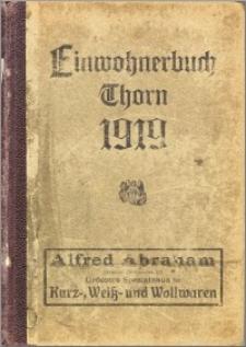 Einwohnerbuch von Thorn und Umgebung 1919