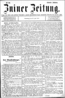 Zniner Zeitung 1894.07.28 R.7 nr 59