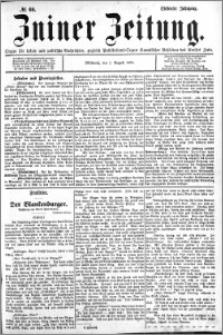 Zniner Zeitung 1894.08.01 R.7 nr 60