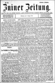 Zniner Zeitung 1894.08.08 R.7 nr 62