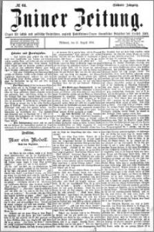 Zniner Zeitung 1894.08.15 R.7 nr 64