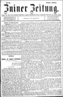 Zniner Zeitung 1894.08.18 R.7 nr 65