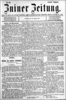 Zniner Zeitung 1894.08.22 R.7 nr 66