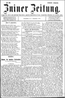 Zniner Zeitung 1894.09.01 R.7 nr 69