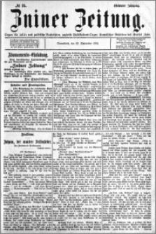 Zniner Zeitung 1894.09.22 R.7 nr 75