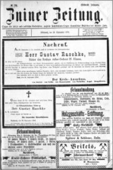 Zniner Zeitung 1894.09.26 R.7 nr 76