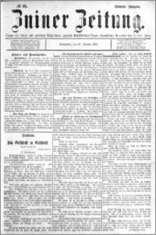 Zniner Zeitung 1894.10.27 R.7 nr 85