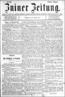 Zniner Zeitung 1894.10.31 R.7 nr 86