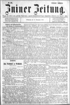 Zniner Zeitung 1894.11.14 R.7 nr 90