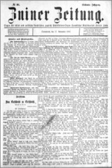 Zniner Zeitung 1894.11.17 R.7 nr 91