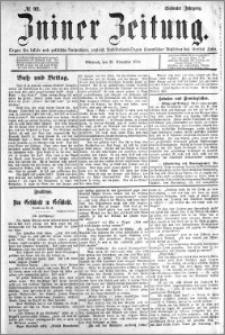 Zniner Zeitung 1894.11.21 R.7 nr 92