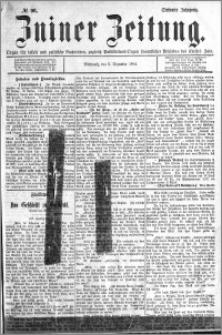 Zniner Zeitung 1894.12.05 R.7 nr 96