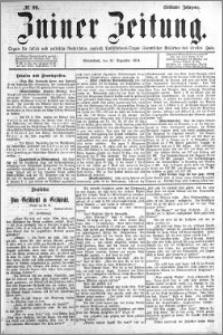 Zniner Zeitung 1894.12.15 R.7 nr 99