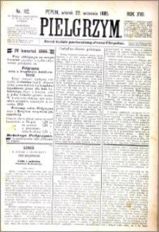 Pielgrzym, pismo religijne dla ludu 1885 nr 112