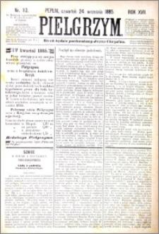 Pielgrzym, pismo religijne dla ludu 1885 nr 113