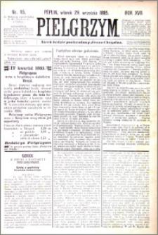 Pielgrzym, pismo religijne dla ludu 1885 nr 115