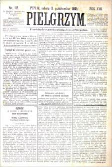 Pielgrzym, pismo religijne dla ludu 1885 nr 117