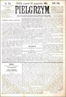 Pielgrzym, pismo religijne dla ludu 1885 nr 125