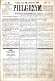 Pielgrzym, pismo religijne dla ludu 1885 nr 126