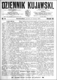 Dziennik Kujawski 1895.04.21 R.3 nr 91